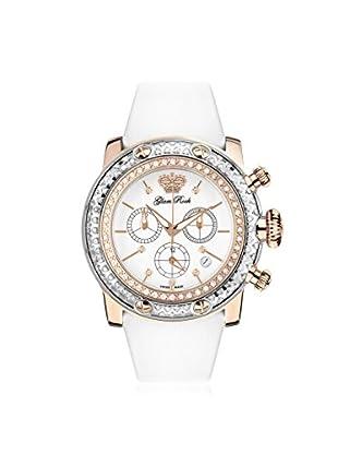 Glam Rock Women's GR11130D Miami White Genuine Leather Watch