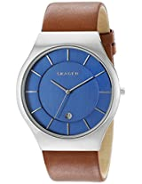 Skagen End-of-Season Grenen Analog Blue Dial Men's Watch - SKW6160