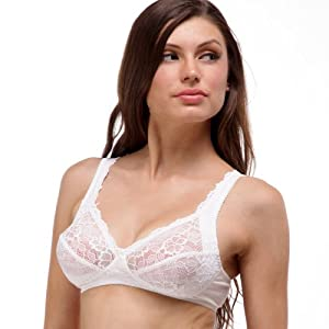 Sparsh White - Non Wired Bra