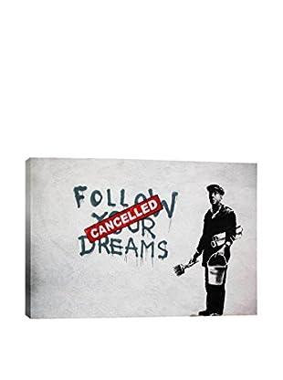 Banksy Dreams Cancelled Giclée On Canvas