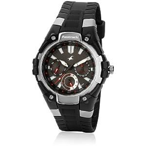 Fastrack Nc9335Pp02-D359 Black / Black Analog Watch