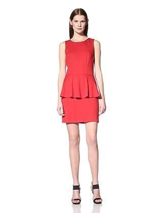 JB by Julie Brown Women's Zula Peplum Dress (Red)