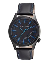 Giordano Analog Black Dial Men's Watch - 1671-04