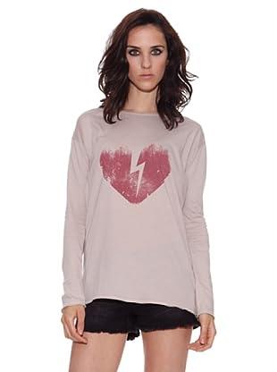 The Hip Tee Camiseta Heart & Ray (Beige)