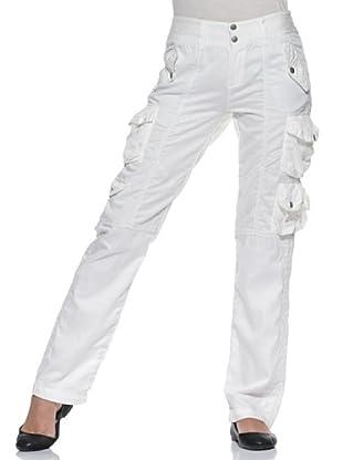 Timberland pantalone cargo (bianco)