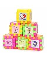 68pcs Bay Children Kids Plastic Animal Building Blocks Assembled Learning Educational Toy