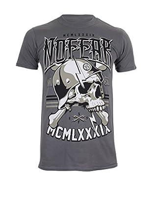 No Fear T-Shirt Lightning Skull