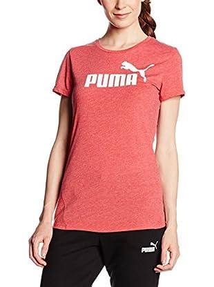 Puma T-Shirt Manica Corta Ess No.1 Tee Heather W