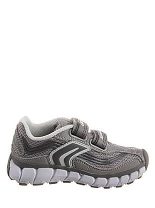 Geox Zapatillas Baby Wave Boy B22B1A014AFC4211 - Zapatos para niño (Gris / Blanco)