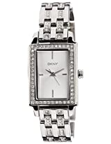 DKNY Analog Silver Dial Women's Watch - NY8623