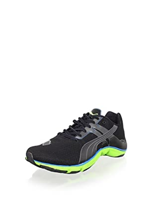 PUMA Men's Mobium Runner Elite Sneaker (Black/Turbulence/Jas)