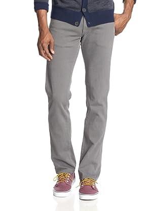Agave Men's Gringo Calvary Twill Classic Cut Straight Leg Jean (Charcoal)