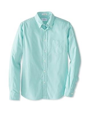 GANT Rugger Men's Dreamy Oxford Button-Up Shirt (Pastel Mint)
