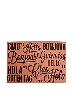 LO+DEMODA Fußmatte Languages