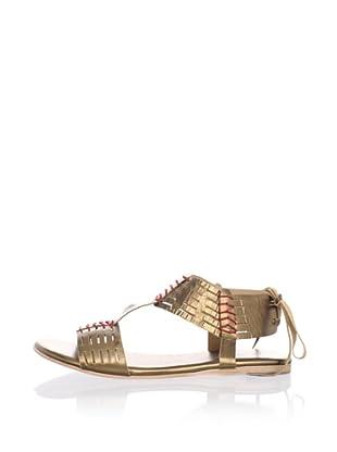 Fiel Women's Todo Santos Aztec Sandals (Bronze)