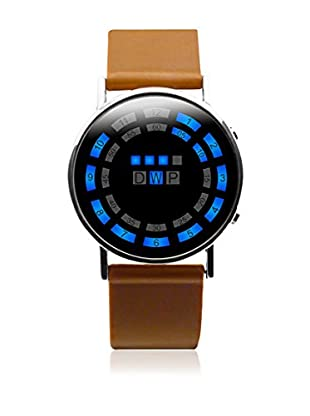 F&P Reloj Led Ender Marrón