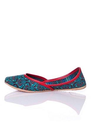 Sigris Zapato Paisley (Azul)