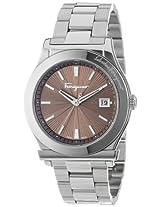 Salvatore Ferragamo Mens FF3050013 1898 Stainless Steel Watch