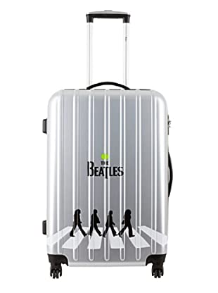 Les Beatles by Platinium Trolley 4 Ruedas Abbey Road (Plata)