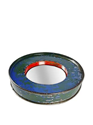 Foreign Affairs Kacat Mirror, Blue/Green