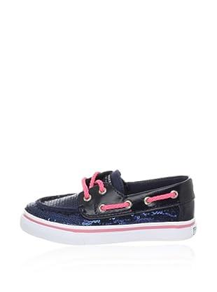 Keds Kids Segelschuh (Blau (Navy/Pink))