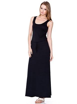 Esprit Vestido Liso (Negro)