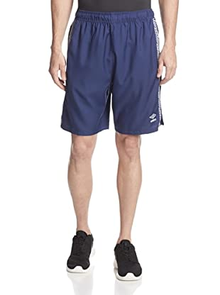 Umbro Men's Aztec Stripe Soccer Short (Blue Depths)