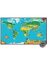 LeapFrog MBE-LPFG108 Interactive World Map