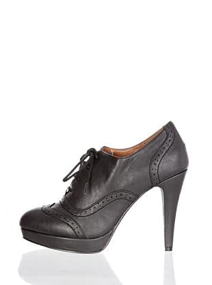 Paula Soler Zapatos Cordones (Negro)