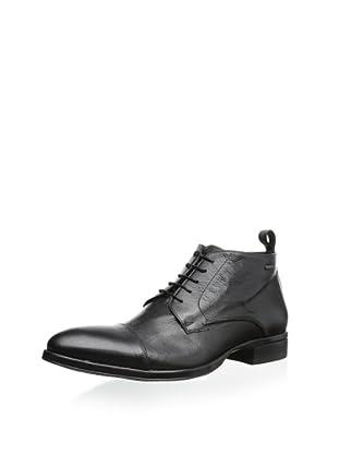Dino Bigioni Men's Chukka Boot (Black Lama)