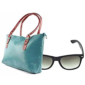 Fidato FD040 Handbag & Wayfare - Black & Seagreen
