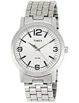 Timex Classics Analog Silver Dial Men's Watch - TI000T11200