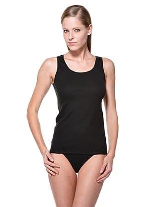 Cotonella Pack de 2 Camisetas Interiores SM (negro)