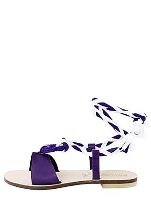 Dolceamore Sandalias Graciane (Violeta / Blanco)