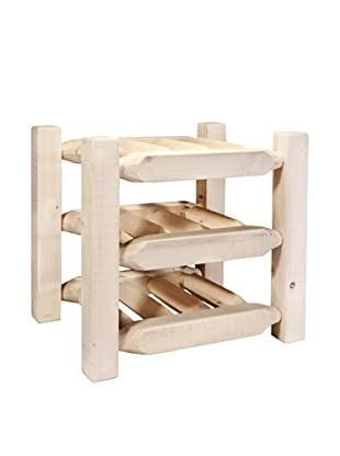 Montana Woodworks Homestead Collection Countertop Wine Rack (Clear Lacquer Finish)