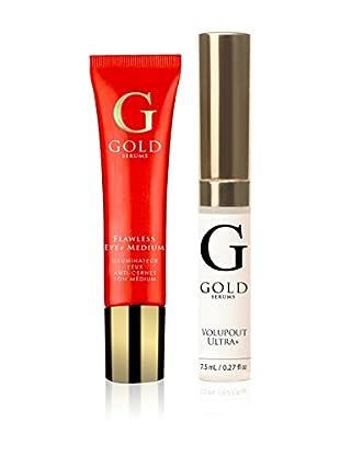Gold Serums Gesichtspflege Kit 2 tlg. Set Medium