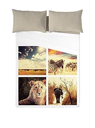 NATURALS Juego De Sábanas Serengueti