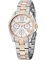 """Stuhrling Original Women's 494.03 """"Regent Dynamo"""" 16k Rose Gold Plating and Stainless Steel Two-Tone Watch"""