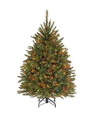 National Tree Company 4.5' Dunhill Fir Hinged Tree
