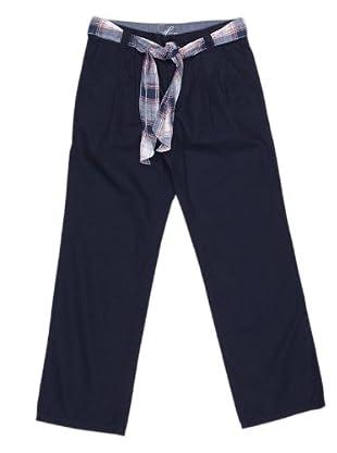 Tommy Hilfiger Pantalón Cinturón (Azul Marino)