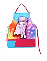 Digitally Printed Kids Apron For 1-5 Years Old,Cotton,18x12 Inch,300TC,KAPS-176