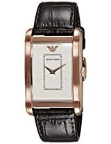 Emporio Armani Analog White Dial Men's Watch - AR1901