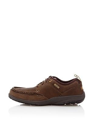 Rockport Zapatos Casual Waterproof Armoc Front (Marrón Medio)