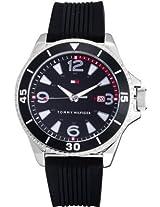 Tommy Hilfiger Analog Watch - For Men - Black - NTH1790754