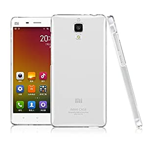 IMAK Luxury Crystal Clear Bumper Case Cover Hard Back for XIAOMI 4 M4 MI4(Clear)