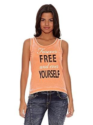 Cipo & Baxx Camiseta Ophelia (Naranja)