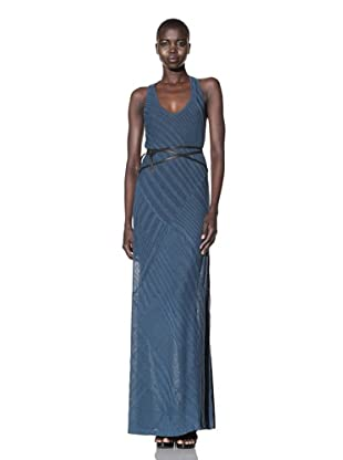 Improvd Women's Shiloh Casual Jersey Maxi Dress (Turquoise)
