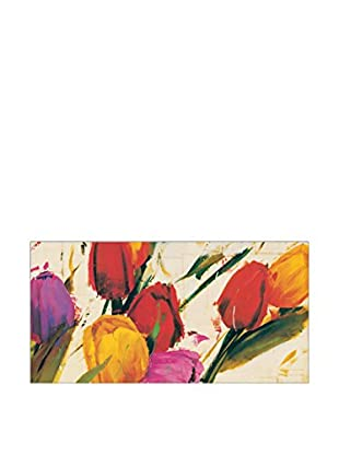 Artopweb Panel Decorativo Massa Tulips 70x138 cm Multicolor