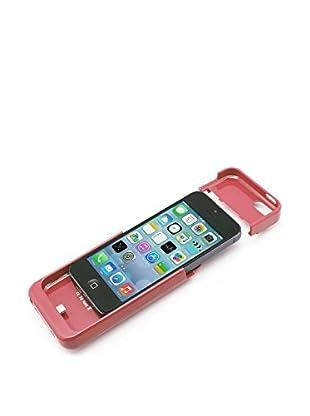 Funda Con Batería 2200Mah iPhone 5 / 5S / 5C Rosa