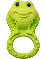 Infantino Squeeze and Teethe Textured Pal, Frog